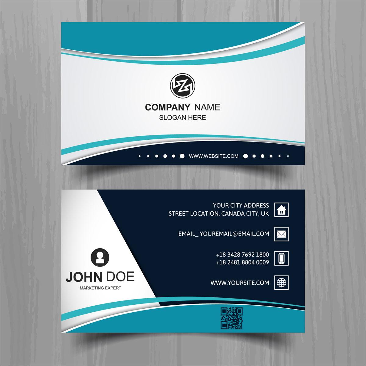 design business card- modern