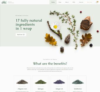 herbal theme for wordpress